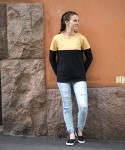 Sopiva paita keltainen